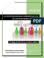 El Código de Ética de Los Servidores Públicos