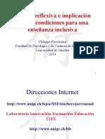 1.- Postura Reflexiva, Implicacion Critica e Inclusion