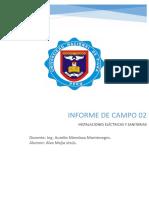 Informe 02 Electricas