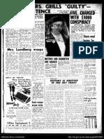 Sentencing - Death October 15 1953