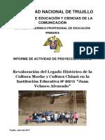 Informe Del Proyecto 2017 Geohistoria