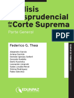 Analisis Jurisprudencial CSJ Parte general.pdf