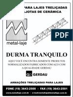 Catálogo Lajota Cerâmica Metal Laje