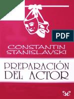 Preparación del actor de Konstantin Stanislavski.pdf