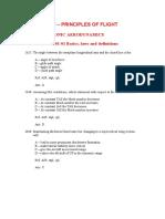 106757251 Principles of Flight Questions