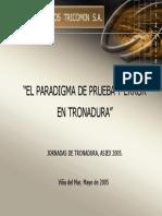 04 El Paradigma de Prueba y Error en Tronadura - Juan Danie