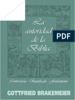 BRAKEMEIER, Gottfried (2006). La Autoridad de la Biblia, Controversias-Significado-Fundamento. Quito, CLAI.pdf
