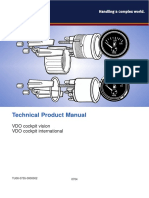VDO Instrument Manual TU00-0755-00000002