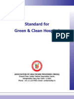 AHPI Standard for Green & Clean Hospital