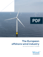 WindEurope Mid Year Offshore Statistics 2016