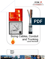 Sizing Cables, Conduit and Trunking