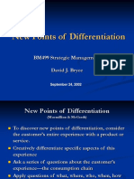 New Points of Differentiation