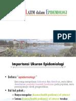 Ukuran Yang Lazim Dalam Epidemiologi