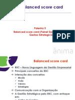 Palestra 5 - Balanced Score Card