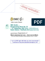 IMC OnAir RSS Feed Moderation Script StudioTalk Nr. 2 12092007