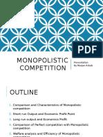 Monopolistic Competition Presentation