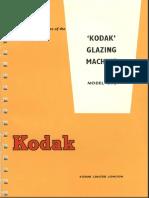 Kodak Glazing Machine 15TC