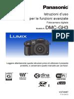 Panasonic GH3 Lumix Guida ITA