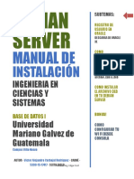 Debian Server Manual de Instalacion - Tarea 1 Bd1