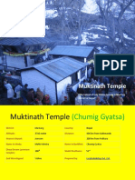 Muktinath Temple - the place to get salvation