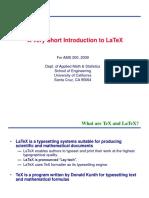 Latex Intro