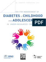 POCKETBOOK FOR MANAGEMENT OF DIABETES IN CHILDHOOD AND ADOLESCENCE IN UNDER-RESOURCED COUNTRIES BY DIABETESASIA.ORG