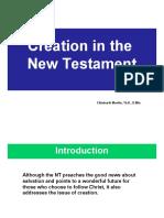10 Creation in the New Testament - Ekkehardt Mueller