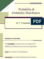 1Probability & Probability Distribution