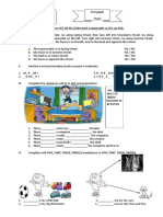 Evaluarea 1 a4a Engleza