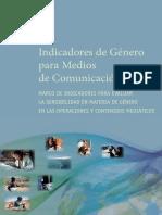 Indicadores de Género Para Medios de Comunicación