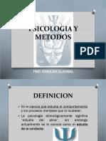 1. Psicologia y Metodos