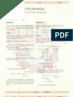 problemas Resueltos de Polinomios