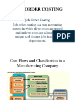Job-Order Costing Flow Calonia
