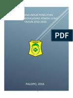 Rencana Induk Penelitian Aspl 2016 2010