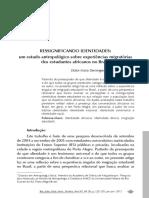 MUNGOI_Dulce Maria Ressignificando Identidades_estudantes Africanos Brasil