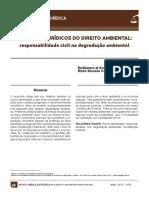 ASPECTOS JURÍDICOS DO DIREITO AMBIENTAL