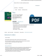 Planta - Incl. Option to Publish Open Access