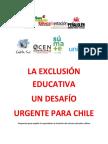 La Exclusion Educativa Desafio Urgente Para Chile