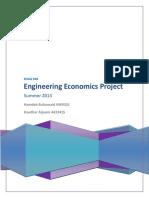 Engg. Economics Project