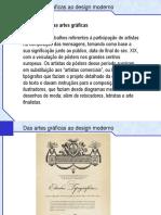 Das Artes Graficas Ao Design