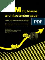 BIM Bij Kleine Architectenbureaus Bleeuwis Rapport