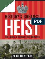 History's Greatest Heist_ the L - Sean McMeekin