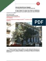 Informe de Demoliciones Irregulares Por Falta de Control
