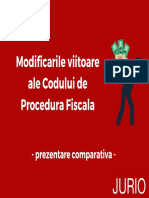 Modificari proiect CPF