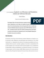 ibm mainframe perfomance dummy vergleich