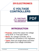 AC Voltage Controllers