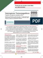 69_14 Siemens. Protección de circuitos contra fallas por Sobrecorriente..pdf