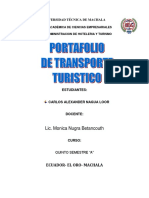 Portafolio de Transporte