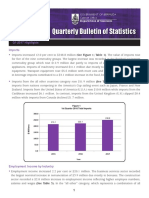 Quarterly Bulletin of Statistics - Q1 2017