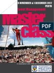 Perth Festival & Event Management Masterclass